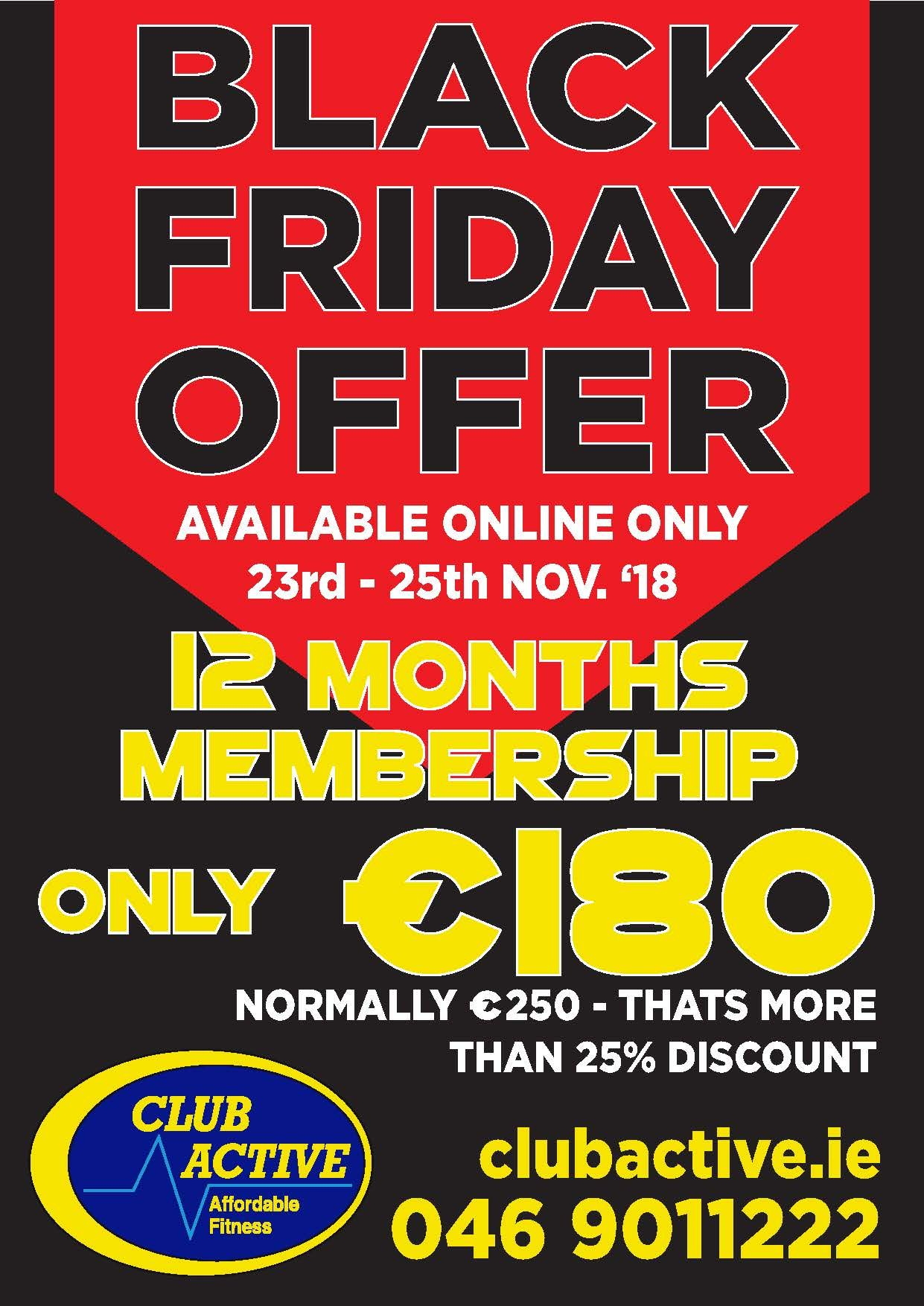 Black Friday Offer is here!!!!!!!!!